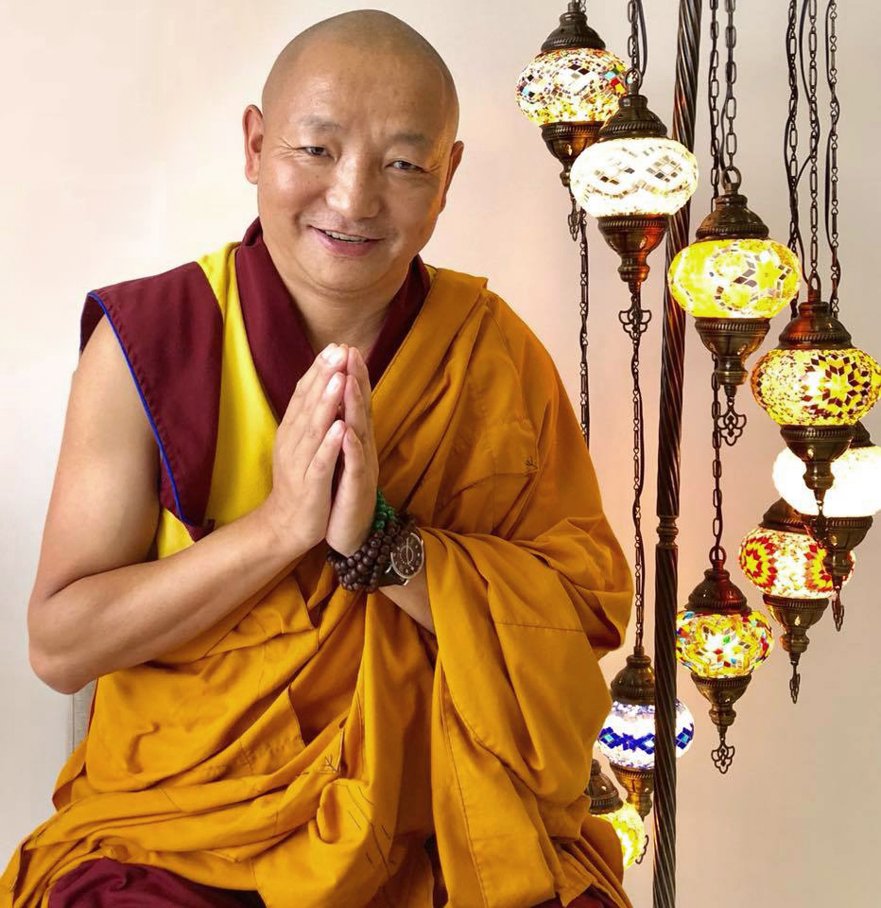 Geshe Gyalten Portrait | Awakening Vajra International